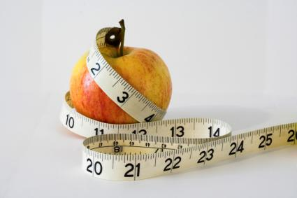 Fruit and Measuring Tape
