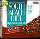 south beach diet high protein cereal bars chocolate