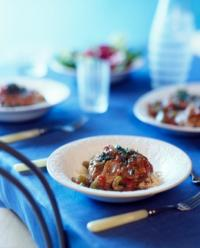 Osso Bocco with Rice