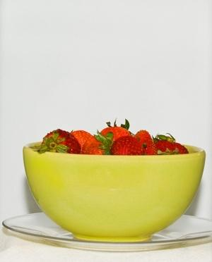 bowl of berries