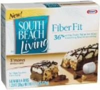 South Beach Living Fiber Fit Bars