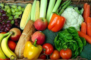 Fresh produce for good nutrition