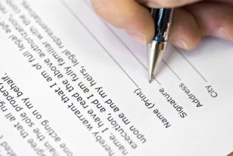 Preparing a Legal Separation Agreement