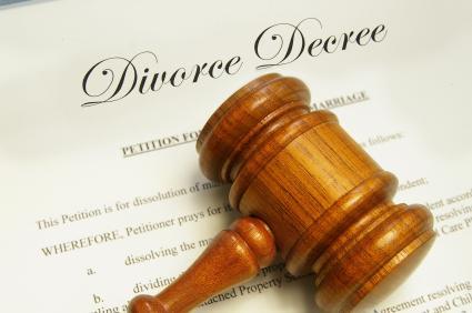A divorce decree