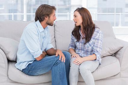 Quarrelling Couple