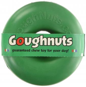 Goughnuts Rubber Dog Chew Toy Med .75