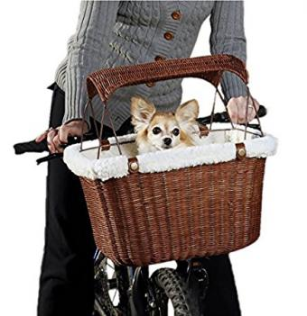 Solvit Tagalong Wicker Bicycle Basket