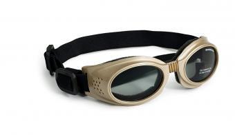 Doggles Originalz Frame Goggles for Dogs with Smoke Lens