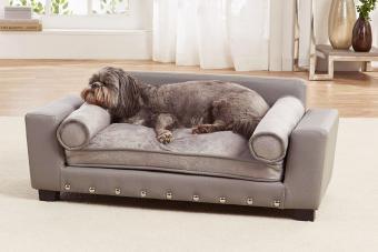 Enchanted Home Pet Grey Scout Pet Sofa