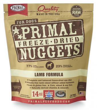 Primal Pet Food Lamb Nuggets