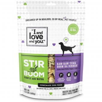 Stir & Boom Dehydrated Dog Food
