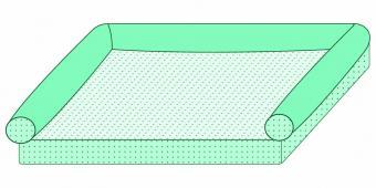 Envelope Dog Pattern Adding a Bolster