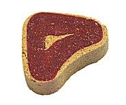 steak shaped dog treat is a dog love gift suggestion