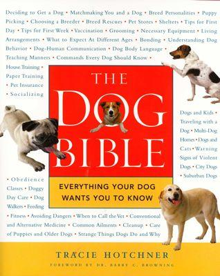 The Dog Bible: Interview with Tracie Hotchner