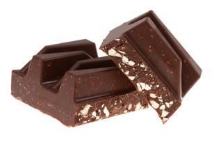 Leftover chocolate bar