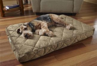 Orvis Tempur-Pedic Dream Lounger memory foam dog bed