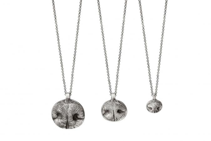 Custom Nose Print Necklaces