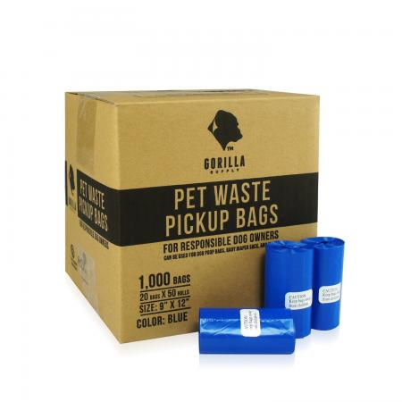 Gorilla Supply Dog Poop Bags