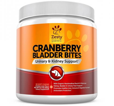 Zesty Paws Cranberry Bladder Bites