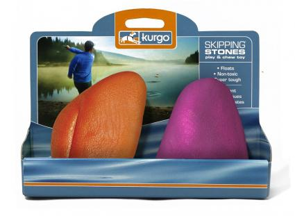 Kurgo Skipping Stones Water Fetching Toy