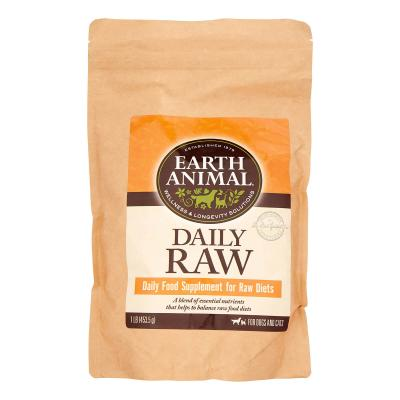 Earth Animal Daily Raw Complete Powder Dog & Cat Supplement