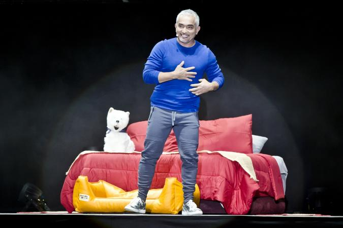 Celebrity dog trainer Cesar Millan