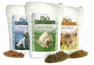 Life's Abundance Pet Food; Used with permission from Full Spectrum Media.