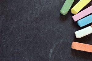 Chalkboard place mat