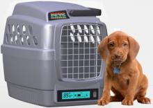 climate controlled dog crate option
