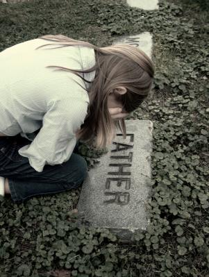 Daughter grieving for her dad