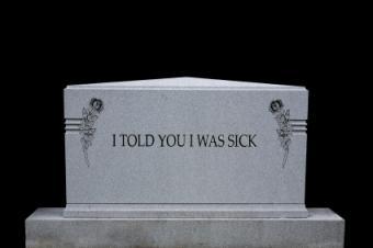 funny headstone