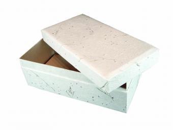 Handmade paper pet casket