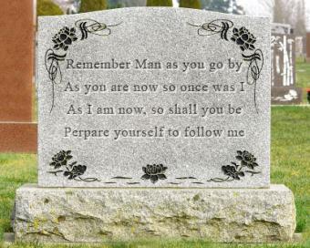 Unique Ideas for Headstone Inscriptions