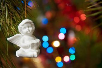 child angel ornament
