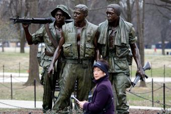 Three Soldiers Vietnam Memorial Sculpture