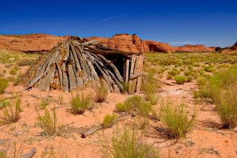 Tomb of unknown Navajo in Arizona