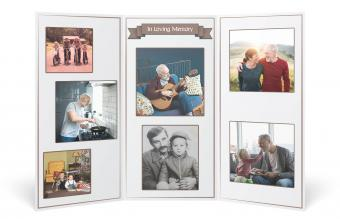 Funeral Picture Display Ideas