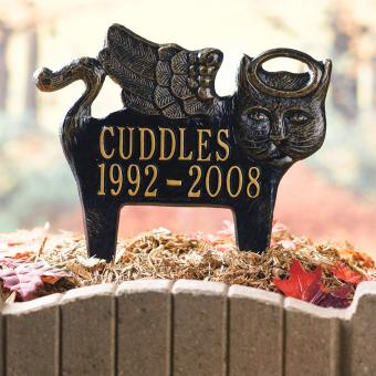 Whitehall Personalized Angel Pet Memorial Grave Marker