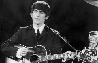 Singer George Harrison