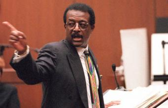 Defense lawyer Johnnie Cochran Jr.
