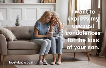 Woman comfort upset mom at home