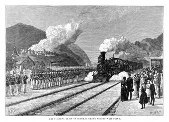 President Grant's funeral train