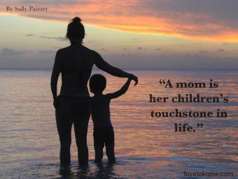 Celebration of life quote for a Mom