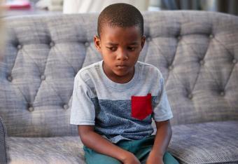 sad young boy