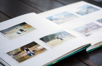 remembrance photo book