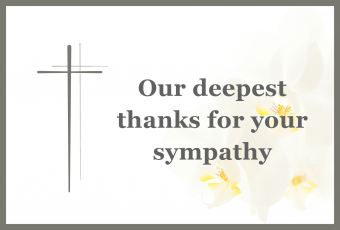 Funeral Acknowledgment Tips and Examples