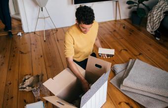 man moving residence