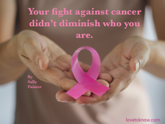 Breast Cancer Awareness Concept. Health care and medical and quote