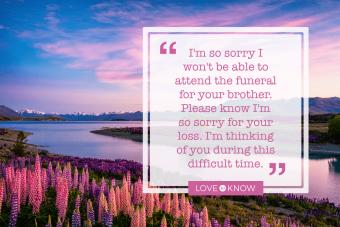 Sending Condolences