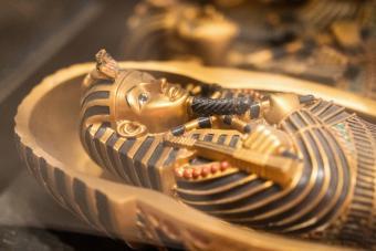 Ancient Egyptian pharaoh mythology artifacts